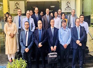 M. Rherrass échange à New Delhi sur le renforcement de la coopération dans le domaine de la formation professionnelle