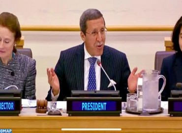 Moroccan Ambassador Omar Hilale Chairs Annual Session of UNICEF Executive Board