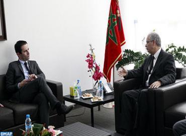 Visite au Maroc du  Ministre français chargé de l'Economie sociale et solidaire
