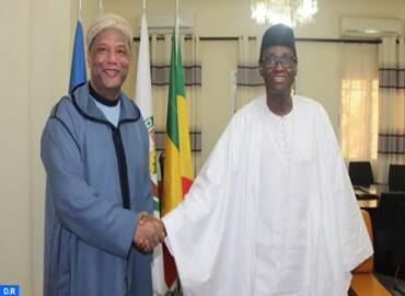 El nuevo ministro maliense de Exteriores se felicita de las acciones emprendidas por SM el Rey en favor de su país