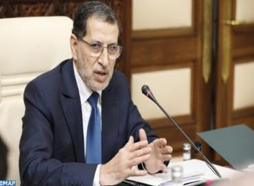 M. El Otmani: La situation épidémiologique au Maroc est
