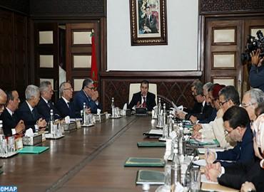 Réunion du Conseil de gouvernement