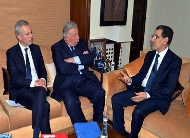 مباحثات مغربية- فرنسية بالرباط للدفع بالشراكة الثنائية في مختلف المجالات