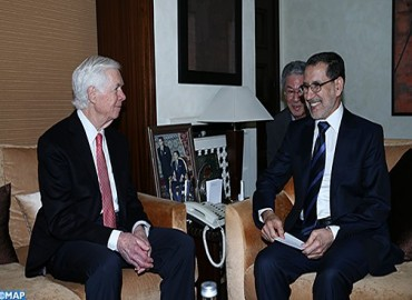 The Official Visit of US Senator William Thad Cochranto Morocco
