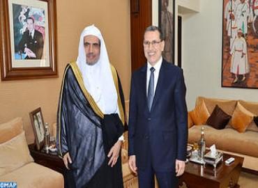 Lucha contra el extremismo: El secretario general de la Liga Islámica Mundial celebra el papel