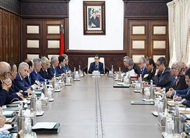 Réunion des travaux du Conseil de gouvernement le jeudi 17 janvier 2019