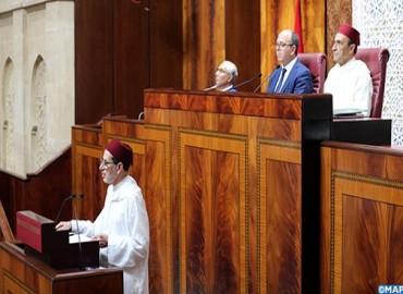 السيد العثماني يقدم الحصيلة المرحلية لعمل الحكومة أمام غرفتي البرلمان