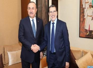 El jefe de Gobierno se entrevista en Rabat con el ministro turco de Asuntos Exteriores
