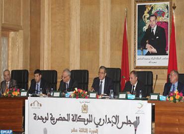 السيد العنصر يترأس اجتماع الدورة ال13 للمجلس الإداري للوكالة الحضرية لوجدة