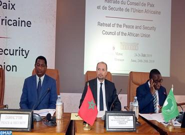 انطلاق أشغال الخلوة ال12 لمجلس السلم والأمن التابع للاتحاد الإفريقي بالصخيرات