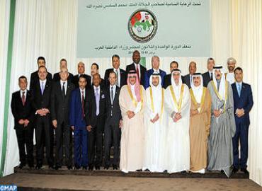 Tenue à Marrakech du 31è Conseil des ministres arabes de l'Intérieur