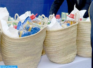 Al Mada Foundation: Distribution of 50,000 Baskets of Foodstuffs and Hygiene To Support Poor Moroccan Families