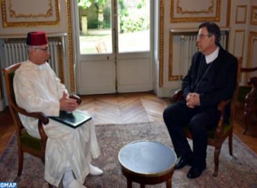 Incendio de la catedral de Notre-Dame de París: El embajador de SM el Rey en Francia se entrevista con el arzobispo de París
