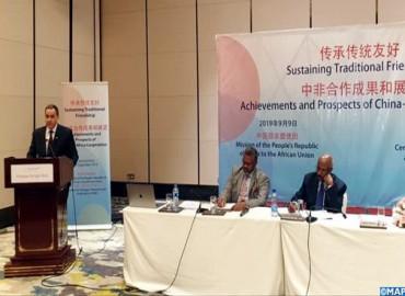 Asociación China/África: Marruecos insiste en Addis Abeba en la interdependencia entre la paz, la seguridad y el desarrollo