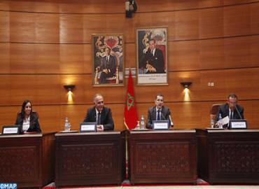 Passation de pouvoirs aux nouveaux ministres du gouvernement marocain