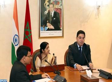 La India concede especial importancia a la asociación bilateral con Marruecos