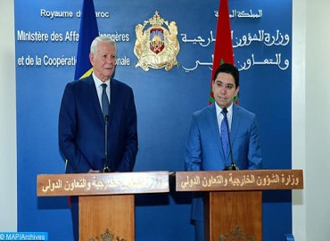 المغرب يثمن دور رومانيا على الساحة الإقليمية والدولية