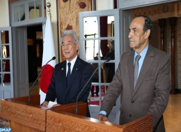 Japanese Parliamentary Official Expresses His Country's Will to Strengthen Relations with Morocco