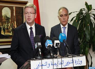 Le Commissaire chargé de la politique européenne de voisinage et de l'élargissement en visite au Maroc