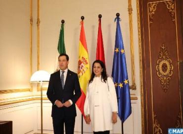 إشادة بالعلاقات المتميزة بين جهة الأندلس والمغرب