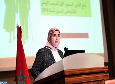 Présentation à Rabat du premier rapport annuel sur les personnes âgées 2018