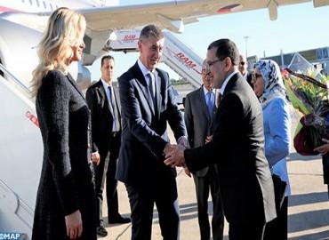 Le premier ministre tchèque en visite officielle au Maroc