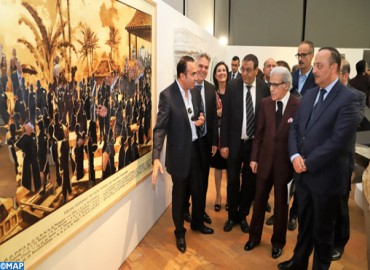 M.Mohamed Laâraj : Vernissage d'une exposition intitulée