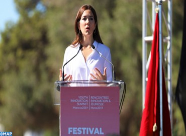 Dialogue & Youth Festival Kicks off in Rabat in Presence of HRH Princess Mary of Denmark