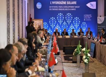 Conférence à Rabat sur le potentiel énorme du Maroc pour une production hydrogène