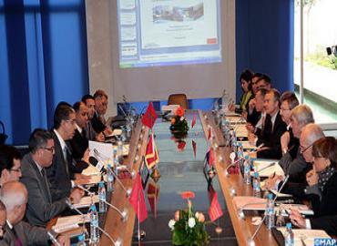 آفاق التعاون في قطاع اللوجستيك محور اجتماع ترأسه السيد الرباح ونائب رئيس جهة لانغدوك روسيون الفرنسية