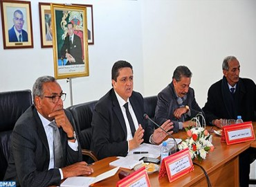 Signature à Rabat d'un accord actant la suspension des mesures relatives à la facturation électronique