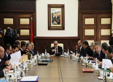 أشغال مجلس الحكومة ليوم الخميس 24 ابريل 2014