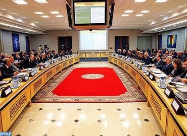 Réunion au ministère de l'Intérieur pour suivre l'avancement des projets de développement programmés à Rabat et Kénitra
