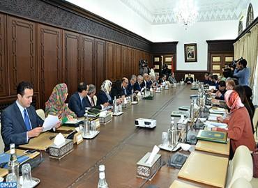 أشغال اجتماع مجلس الحكومة ليوم الخميس 21 دجنبر 2017