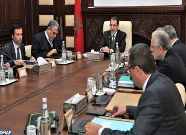 Réunion des travaux  du Conseil de gouvernement  le jeudi 27 décembre 2018