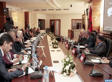 افتتاح أشغال الاجتماع ال 32 للجنة التنفيذية لاتحاد مجالس الدول الاعضاء في منظمة التعاون الإسلامي بالرباط