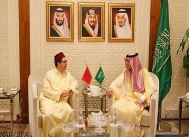 السيد بوريطة يبحث بالرياض مع نظيره السعودي العلاقات الثنائية والمستجدات الإقليمية والدولية