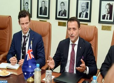 Australian Official Expresses his Country's Full Support for Morocco's Sovereignty and Territorial Integrity