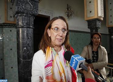 ريبيكا غرينسبان تشيد بجهود المغرب في مجال تحقيق أهداف الألفية للتنمية