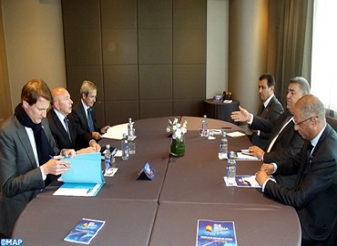 M. Laftit s'entretient à Séville avec le ministre français de l'Intérieur