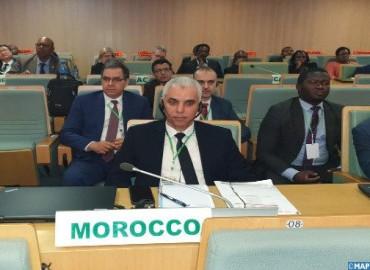السيد آيت الطالب في الاجتماع الطارئ للاتحاد الإفريقي بشأن فيروس كورونا: المغرب ينخرط على الصعيد القاري متيحا إمكانية الإفادة من تجربته وخبرته