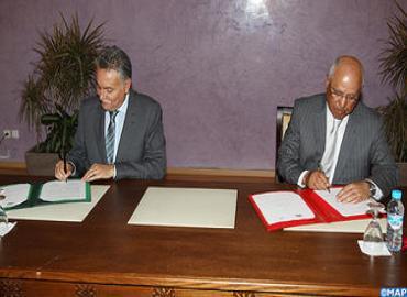 توقيع اتفاقية إطار للشراكة في مجال السكنى بين وزارة السكنى والجمعية المهنية لشركات الإسمنت