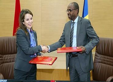 المغرب والتشاد يوقعان على بروتوكول اتفاق واتفاق إطار في مجال الماء