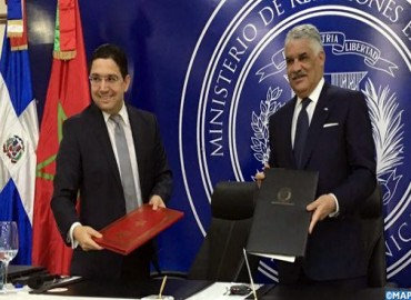 Santo Domingo: Morocco and Dominican Republic Sign Two Cooperation Agreements