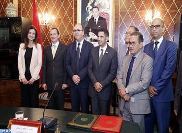 Convention tripartite pour le lancement du programme d'assistance parlementaire