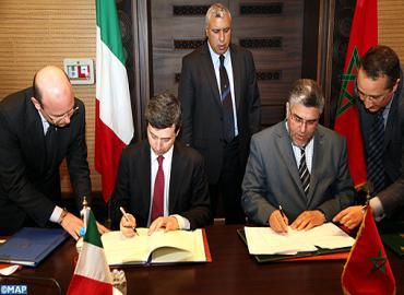 المغرب وإيطاليا يوقعان اتفاقيتين للتعاون في المجال القضائي