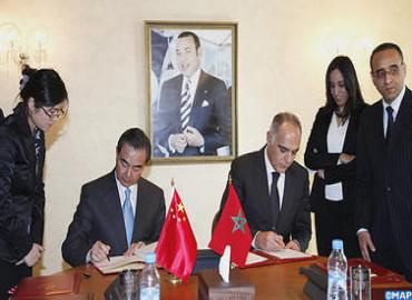 Visita oficial del ministro chino de AE a Marruecos