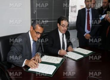 Signature à Rabat d'une convention pour la promotion des services digitalisés de l'ANCFCC auprès des MRE