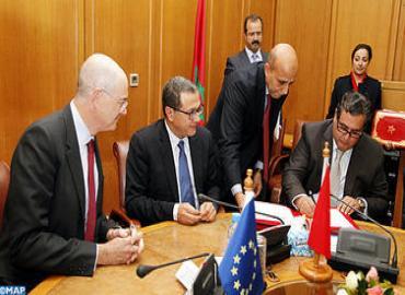 La UE dona a Marruecos 1,86 mil millones de dírhams para financiar cuatro programas