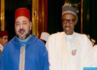 Comunicado conjunto de la visita oficial de trabajo y de amistad a Marruecos del presidente nigeriano